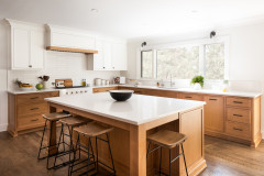 Before and After: 3 Bright White-and-Wood Kitchen Makeovers