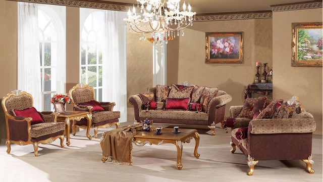 Katherine Luxury Living Room Sofa Set