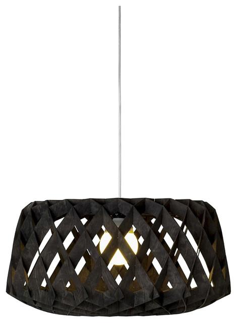 Pilke 60 Pendant Lamp, Black