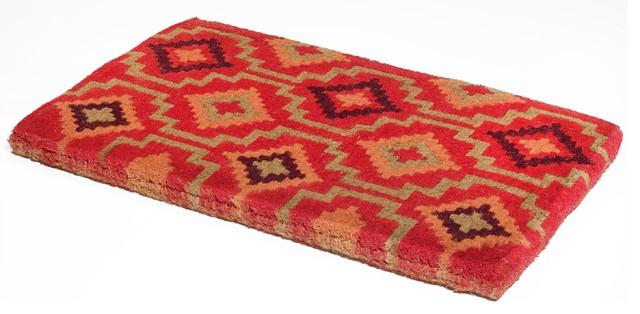 Fab Habitat Handwoven Extra Thick Durable Lhasa Kilim Coir Doormat 24x36.