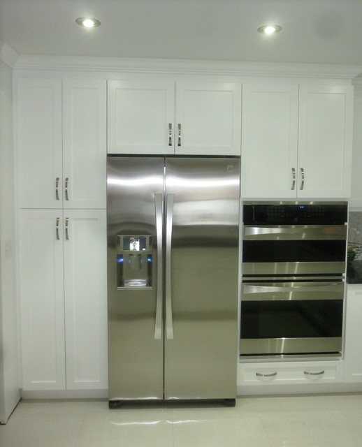 Shaker Pantry Cabinets Miami By Visions