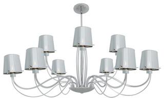 Access lighting chromed glass chandelier chrome for Kitchen cabinets 08094
