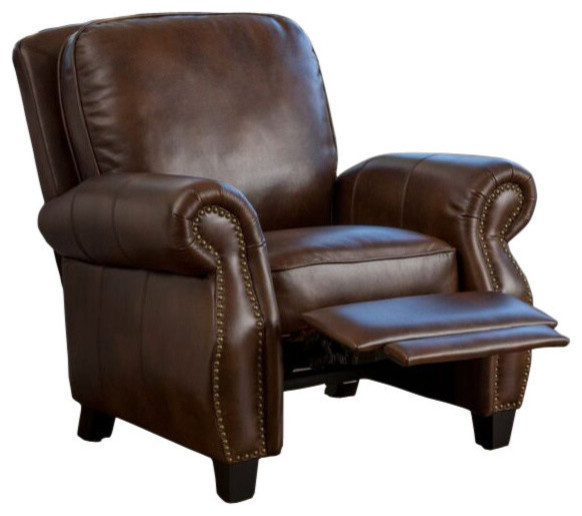 Brilliant Gdf Studio Jasmine Pu Leather Recliner Club Chair Ncnpc Chair Design For Home Ncnpcorg