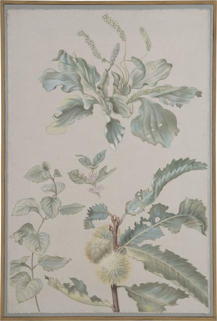 """garden Botanical"", Artisan Stain And Original Art."