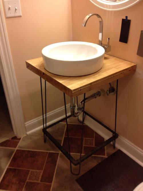 Bathroom Sinks Craigslist bathroom vanity before and after