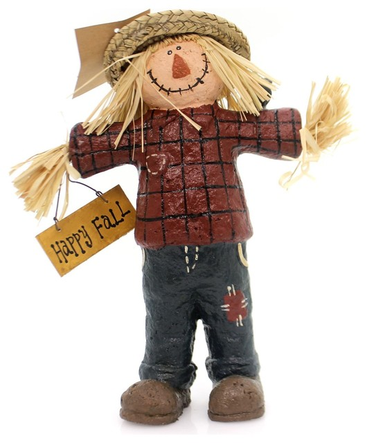 Fall Scarecrow Polyresin Autumn Harvest 30837.