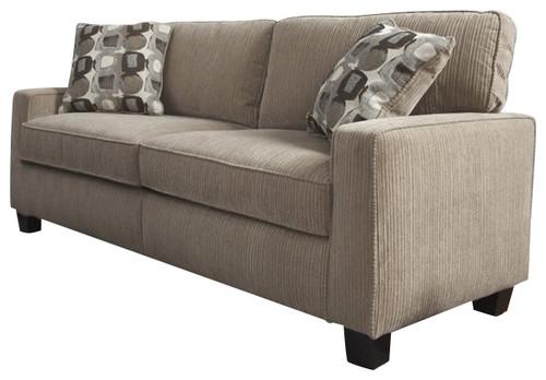 Serta Santa Cruz Sofa In Platinum Fabric More Info