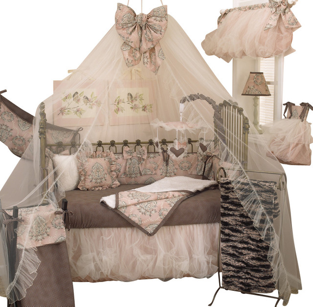 Nightingale 7pc Crib Bedding Set Traditional Baby