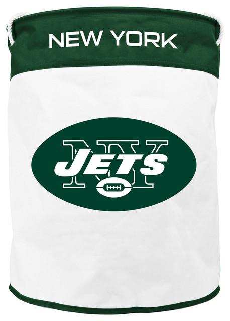 New York Jets Canvas Laundry Bag.