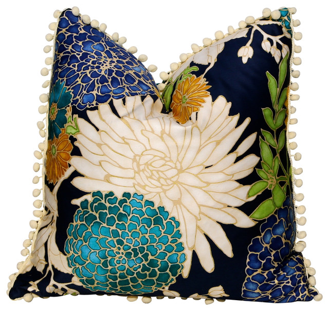 Pillowfever Flower Cotton Pillow Cover View In Your