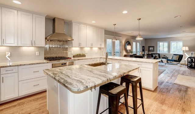 Example of a transitional home design design in DC Metro