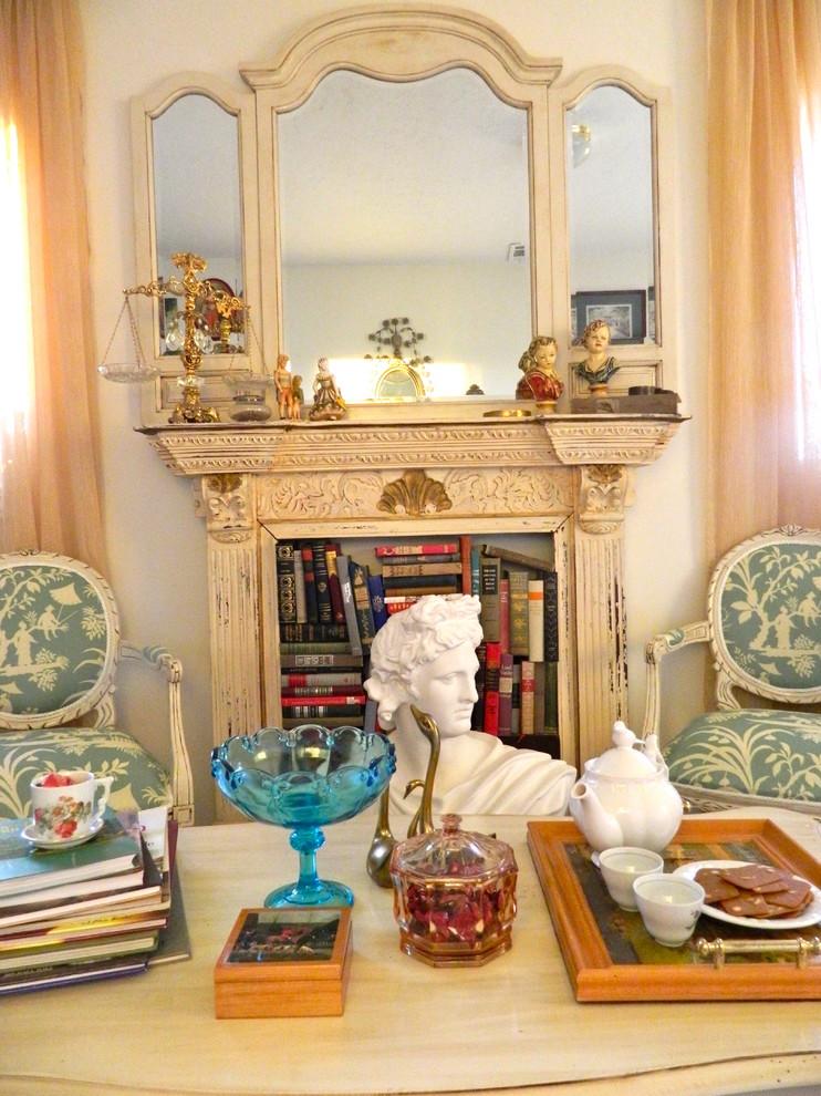 Marie Antoinette Inspired Art Room/Office - Traditional ...