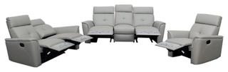 ESF Recliner Light Gray Living Room Set