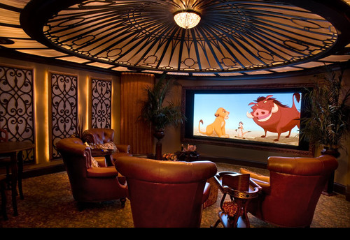 home theater traditional media room