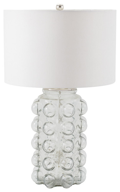 Bubble Glass Table Lamp Clear Contemporary Table Lamps By