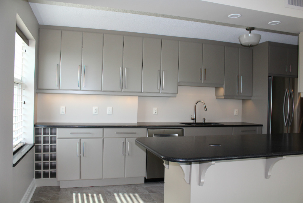 residential space plans- downtown condominium kitchen