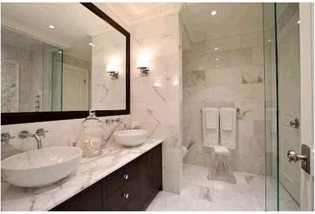 Bathroom calacatta oro for Bathroom ideas 5x12