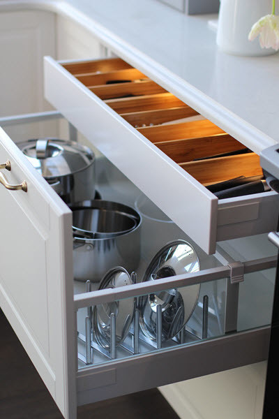 How are people baby proofing Ikea cabinets with drawers?