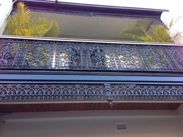 Exterior terrace, Woollahra