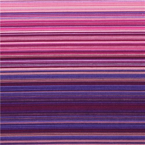 purple thin stripes fabric by Michael Miller USA