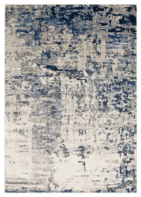 Lagom Area Rug in Navy