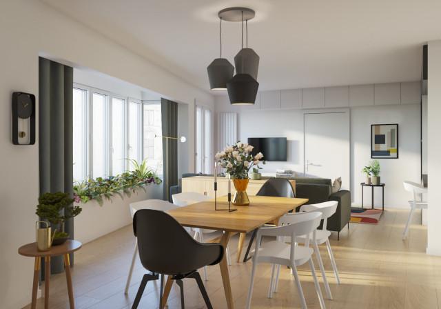 Décoration & aménagement d\'intérieur - Modern - Esszimmer ...