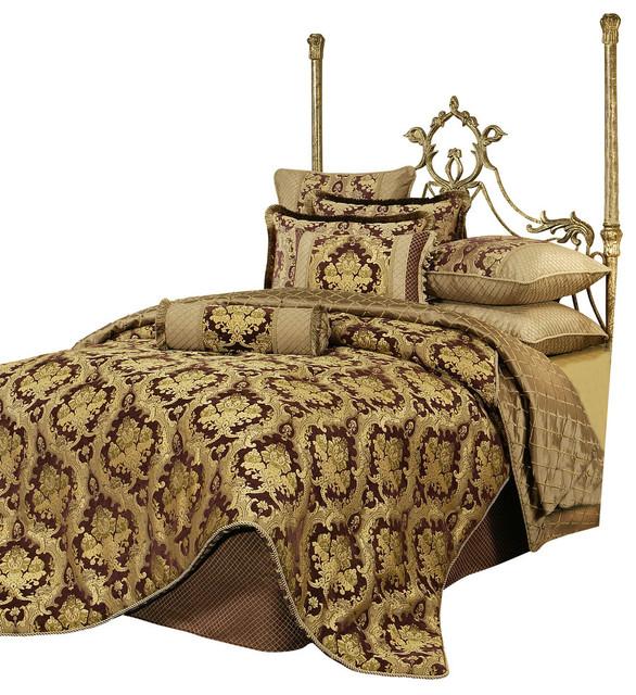 Austin Horn Clics Elizabeth 4 Piece Queen Bedding Collection