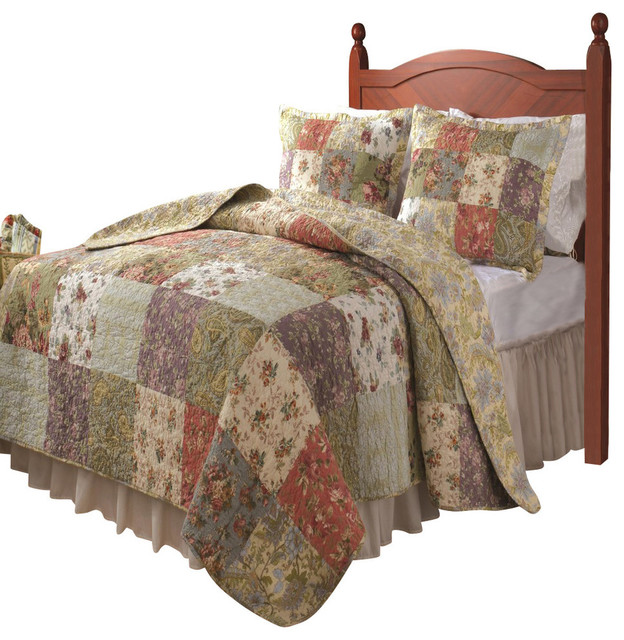 Greenland Blooming Prairie Collection Quilt Set
