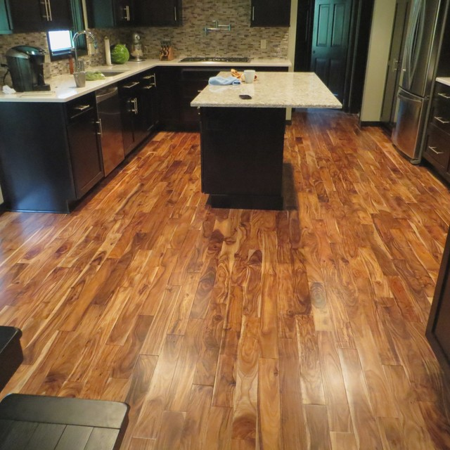 Unique Wood Floors · Hardwood Flooring Dealers U0026 Installers. Solid Acacia  Blonde/ Prefinished Traditional