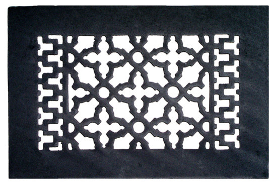 Decorative Cast Iron Grille, Without Holes, 10x6.