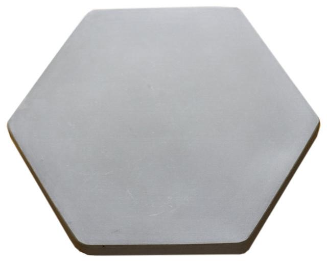 Concrete Lazy Susan Hexagon 9