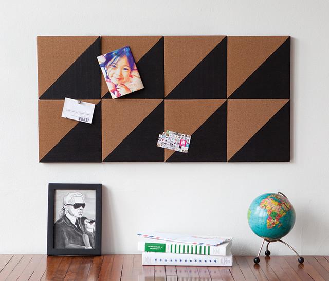 Graph Cork Board