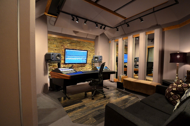 recording studio - Home Music Studio Design Ideas