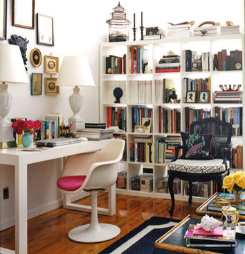 domino eclectic home office