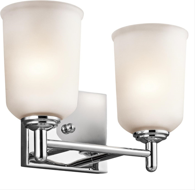 Bathroom Vanity Lights Traditional : Kichler Kichler Lighting 45573Oz Bath Lighting - Bathroom Vanity Lighting Houzz