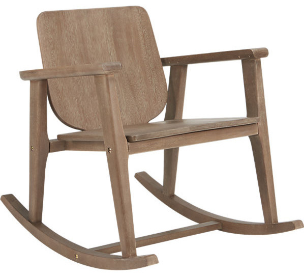 Outback Rocking Chair Contemporary Outdoor Rocking Chairs By CB2