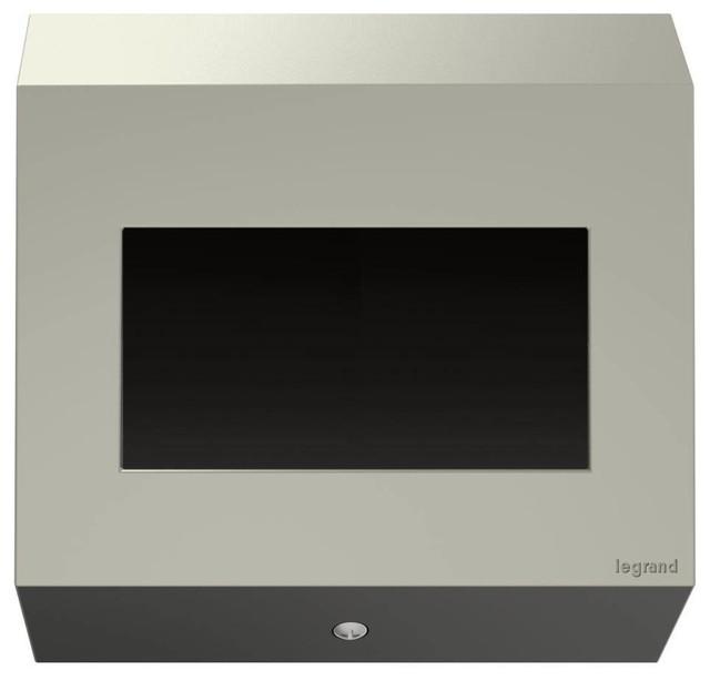 Legrand Adorne Legrand Control Box, 2-Gang, No Devices in Titanium Finish
