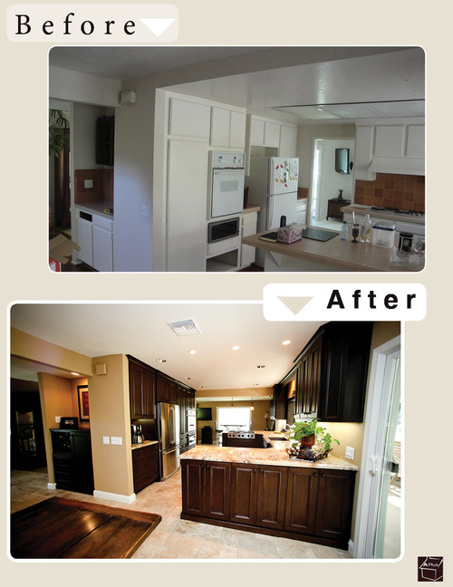 Contemporary Kitchen Remodel In Lake Forest