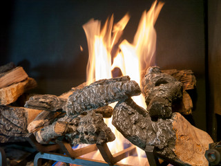 use gas logs in your fireplace