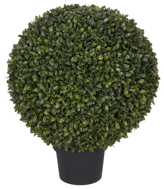 """Artificial 14"""" Boxwood Ball Topiary"""