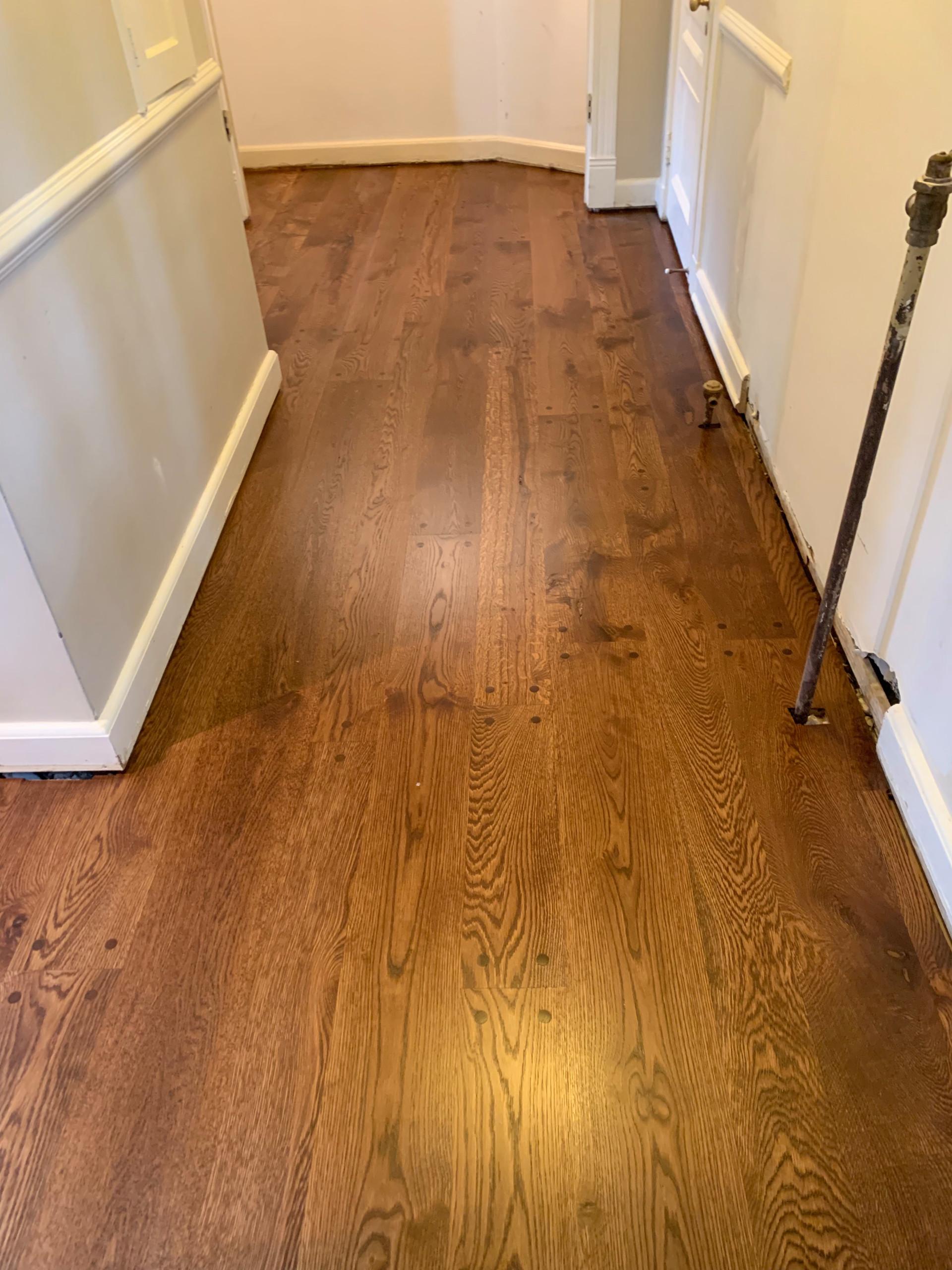 Random width Livesawn plank floor