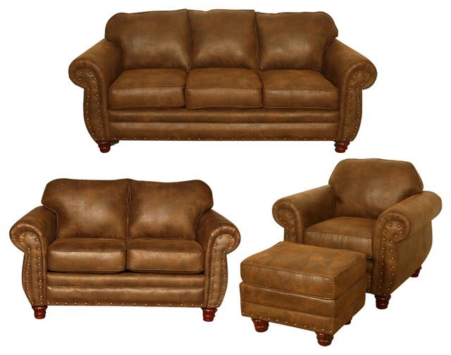 American Furniture Sedona 4 Piece Living Room Set