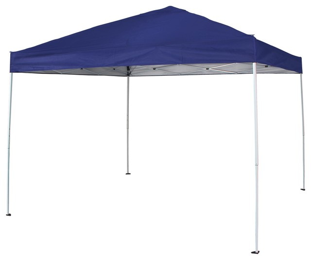 Pop Up Canopy Tent Uv Coated Outdoor Garden Gazebo With Carry Bag, Blue.