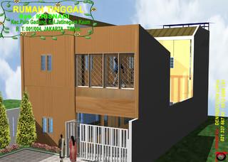 Rumah Kayu Bpk.KRISNADI tropical