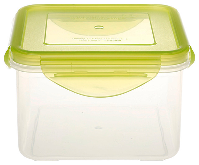 Kinetic GoGreen - 31 oz. Square Food Storage Container - View in Your Room! | Houzz