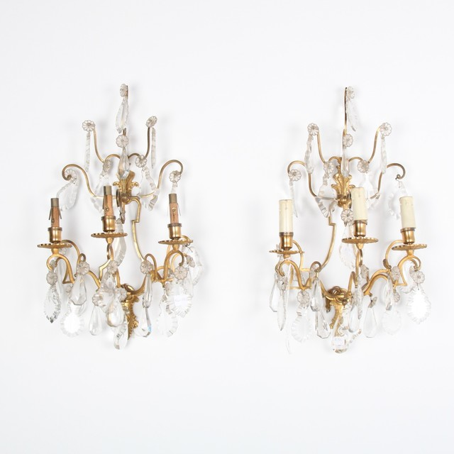 FrenchAntiqueCrystalBronzeSconcesjpg – Chandelier Sconces Wall