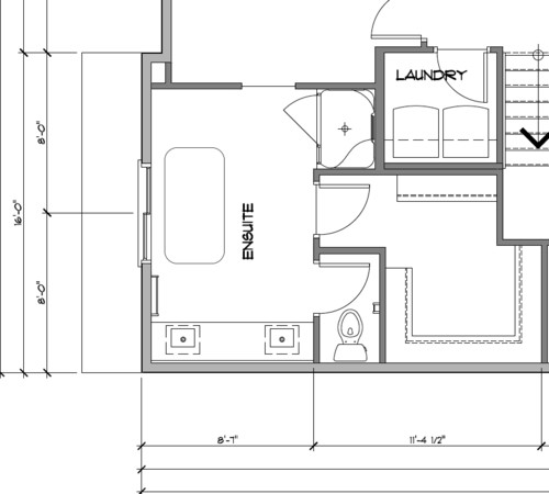 Ensuite Bathroom Without Window ideas on this ensuite bathroom layout?
