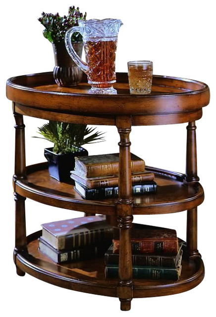Oval Accent Table Traditional Side Tables And End Tables