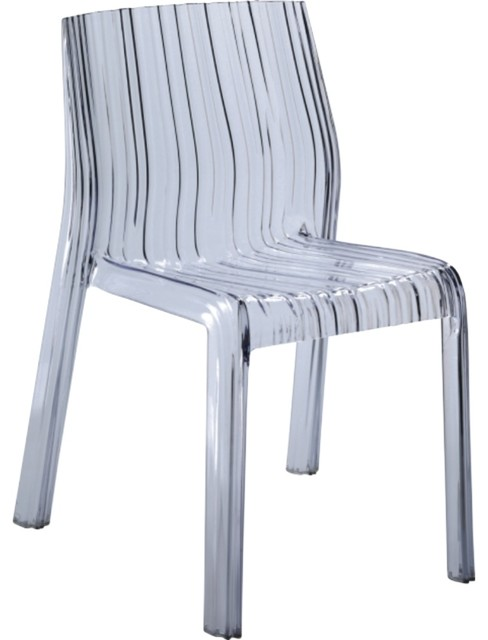 Prime Modern Contemporary Design Outdoor Kitchen Dining Side Chair Clear Plastic Gmtry Best Dining Table And Chair Ideas Images Gmtryco