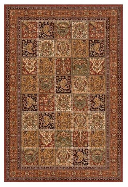 Persian Hand-Serged Rug, Multi, 5'x8'